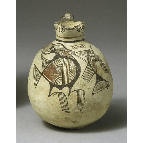 Bichrome IV trefoil jug.  New York, Metropolitan Museum of Art 74.51.527, The Cesnola Collection, purchased by subscription 1874-76.