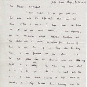 Η επιστολή του Mitford (a)