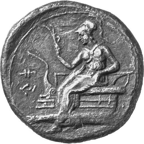 Uncertain Cypriote kingdom, King Ari(-), AR didrachm (6.29 grammes), Staatliche Museen zu Berlin, no acc. number