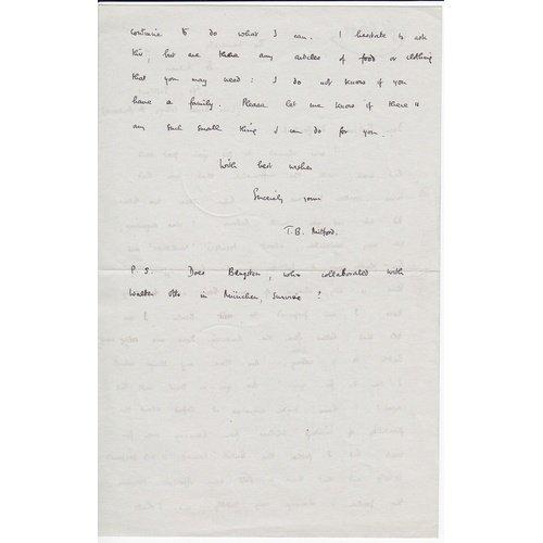 Mitford's letter (b).