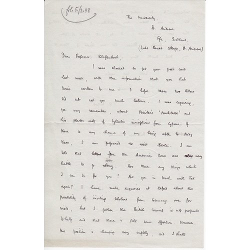 Mitford's letter (a).