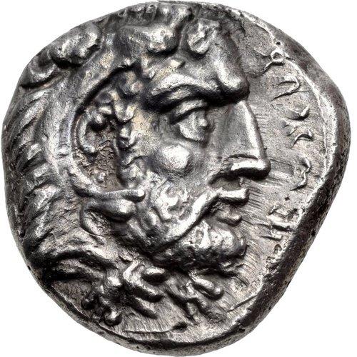 Σαλαμίνα, Βασιλέας Ευαγόρας Α΄, AR σίγλος (10.51 γρ.), Classical Numismatic Group, Triton XVIII, 6/1/2015, αρ 704.
