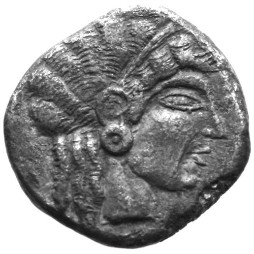 Lapethos, Uncertain king of the 5th c. BC, AR siglos (10.48 grammes). Oxford, the Ashmolean Museum, no 11733 (A1824)