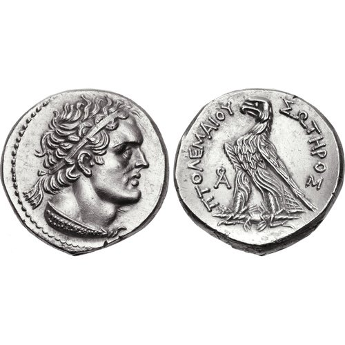 Tetradrachm of an Uncertain Era from Cyprus dated from year 91=172/1. CNG 93, 22 May 2013, 624 (13,91 g, 26 mm, 12 h). Sv. 1207.