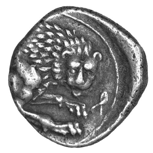 Amathous, King Rhoikos ?, AR tetrobol (2.14 grammes), from the Copenhague Royal Collection, no 3 (Silcoincy A1041)