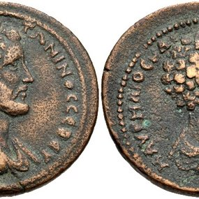 Antoninus/Marcus Aurelius © Coin Archives, Classical Numismatic Group E Auction 229, 10 March 2013, lot 313.