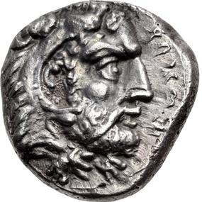Salamis, King Evagoras I, AR siglos (10.51 grammes), Classical Numismatic Group, Triton XVIII, 6 /1/2015, no 704.