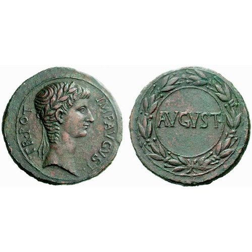 Augustus, RPC I, 3914 © Coin Archives, Numismatica Ars Classica 38, 21 March 2007, lot 8.