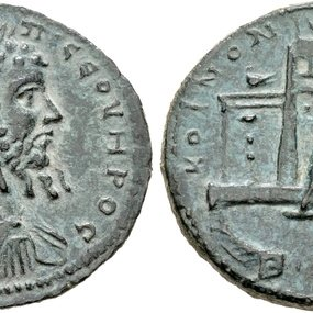 Septimius Severus, sestertius © Coin Archives, Classical Numismatic Group 97, 17 September 2014, lot 484.