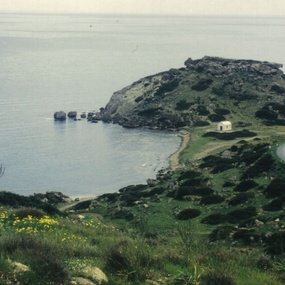 Kornos, north coast of the Kormakitis peninsula. View of the citadel. (Copyright: © C. Balandier).