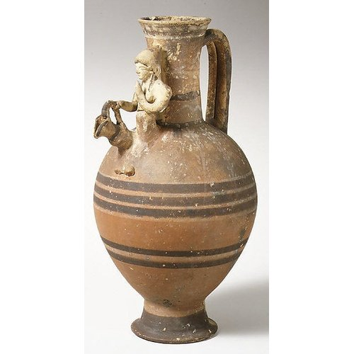 Bichrome Red VI jug.  New York, Metropolitan Museum of Art 74.51.563. The Cesnola Collection, purchased by subscription 1874-76.