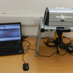 pXRF instrument (image: courtesy of A. Charalambous)