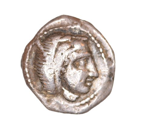 Obverse Kition, Uncertain king of Kition, SilCoinCy A1053