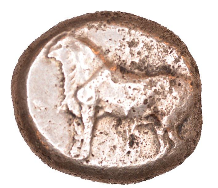 Εμπροσθότυπος Πάφος, Αβέβαιος βασιλέας Πάφου (αρχαϊκή περίοδος), SilCoinCy A1063