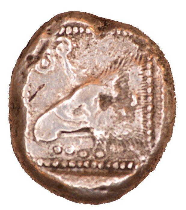 Οπισθότυπος Πάφος, Αβέβαιος βασιλέας Πάφου (αρχαϊκή περίοδος), SilCoinCy A1063