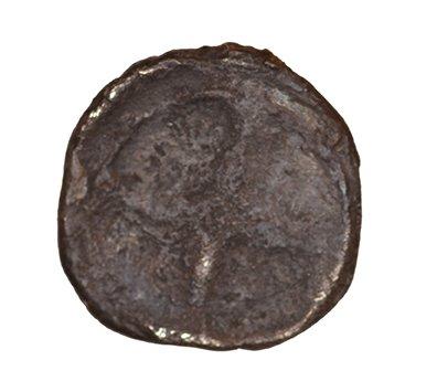 Οπισθότυπος Σαλαμίνα, Ευαγόρας Α΄;, SilCoinCy A1081