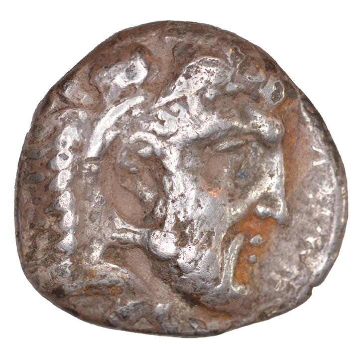 Εμπροσθότυπος Σαλαμίνα, Ευαγόρας Α΄, SilCoinCy A1086