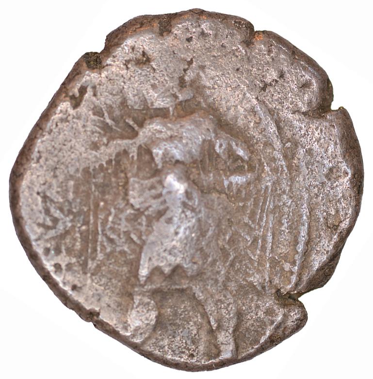 Εμπροσθότυπος Αβέβαιο κυπριακό νομισματοκοπείο, Αβέβαιος βασιλέας Κύπρου (αρχαϊκή περίοδος), SilCoinCy A1104