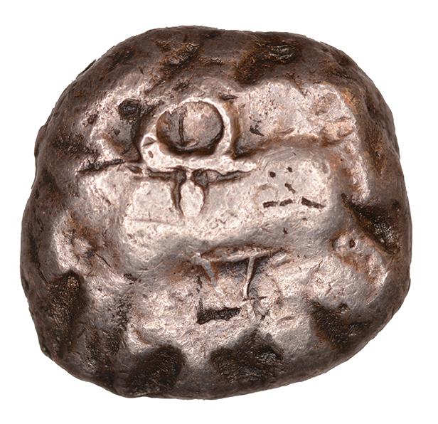 Εμπροσθότυπος Αβέβαιο κυπριακό νομισματοκοπείο, Αβέβαιος βασιλέας Κύπρου (αρχαϊκή περίοδος), SilCoinCy A1107