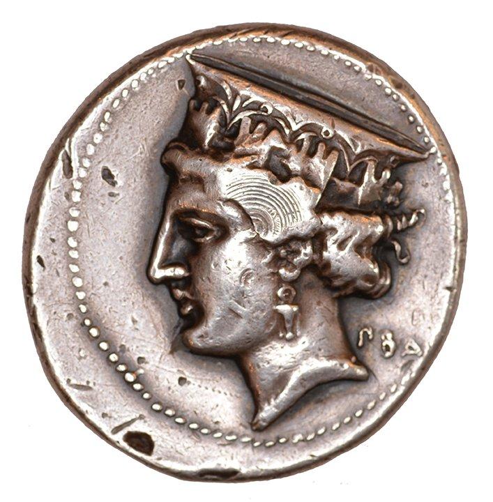 Εμπροσθότυπος Πάφος, Νικοκλής (Πάφου), SilCoinCy A1110