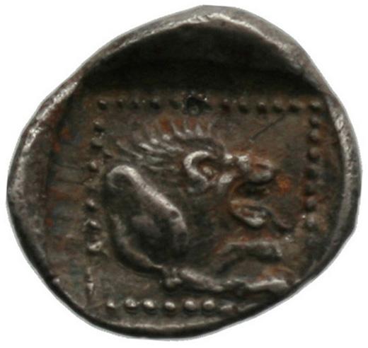 Οπισθότυπος Αμαθούντα, Αβέβαιος βασιλέας Αμαθούντας, SilCoinCy A1800