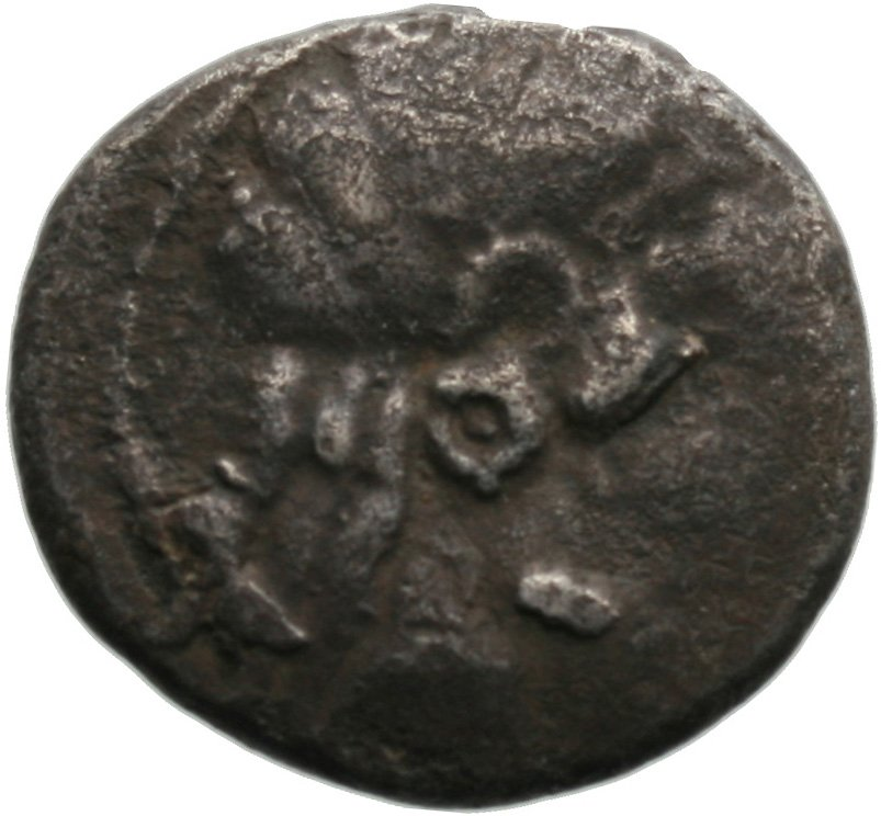 Εμπροσθότυπος Λάπηθος, Αβέβαιος βασιλέας Λαπήθου, SilCoinCy A1822
