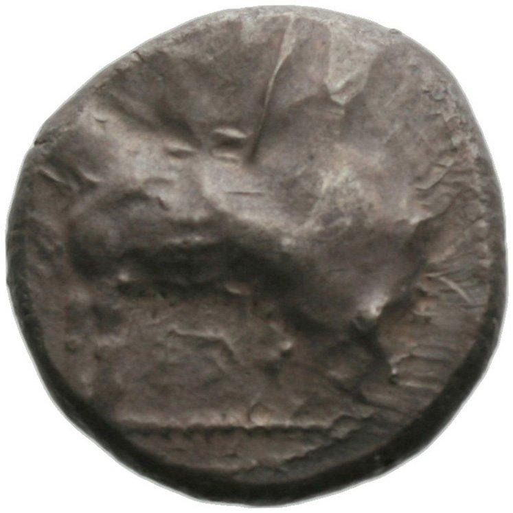 Εμπροσθότυπος Πάφος, Στάσανδρος, SilCoinCy A1833