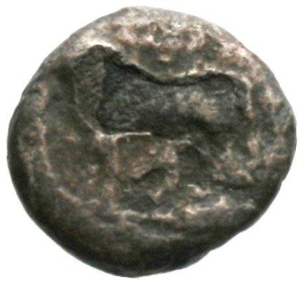 Εμπροσθότυπος Πάφος, Αβέβαιος βασιλέας Πάφου, SilCoinCy A1834