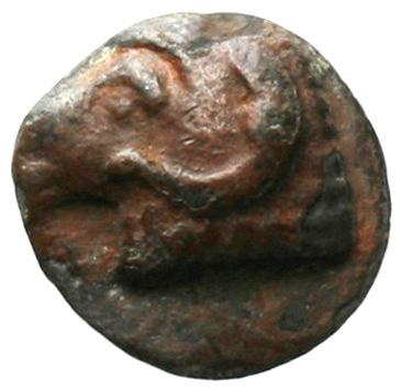 Εμπροσθότυπος Σαλαμίνα, Αβέβαιος βασιλέας Σαλαμίνας, SilCoinCy A1838