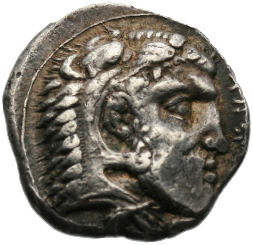 Εμπροσθότυπος Σαλαμίνα, Ευαγόρας Α΄, SilCoinCy A1841