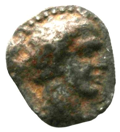 Εμπροσθότυπος Σαλαμίνα, Ευαγόρας Α΄;, SilCoinCy A1845
