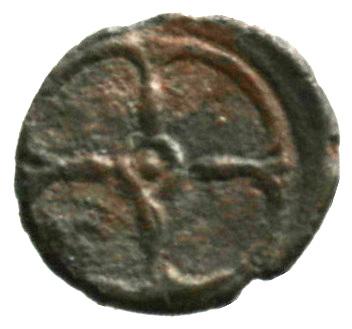 Οπισθότυπος Σαλαμίνα, Ευαγόρας Α΄;, SilCoinCy A1851