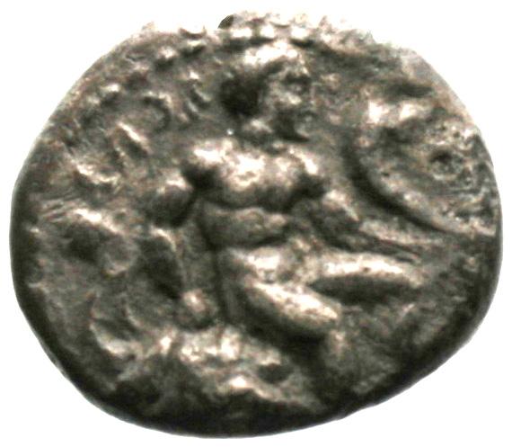 Εμπροσθότυπος Σαλαμίνα, Ευαγόρας Α΄, SilCoinCy A1854