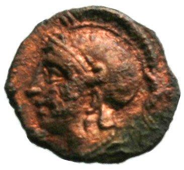 Εμπροσθότυπος Σαλαμίνα, Ευαγόρας Β΄, SilCoinCy A1856