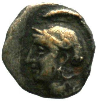 Εμπροσθότυπος Σαλαμίνα, Ευαγόρας Β΄, SilCoinCy A1858