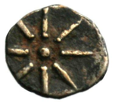 Οπισθότυπος Σαλαμίνα, Ευαγόρας Β΄, SilCoinCy A1858