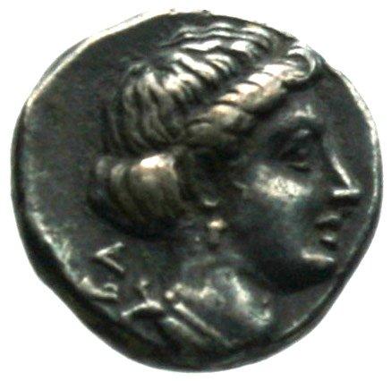 Οπισθότυπος Σαλαμίνα, Πνυταγόρας, SilCoinCy A1866