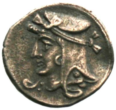 Οπισθότυπος Νομισματοκοπείο Κιλικίας ;, Ευαγόρας Β΄ (όχι ως βασιλέας Σαλαμίνας), SilCoinCy A1872