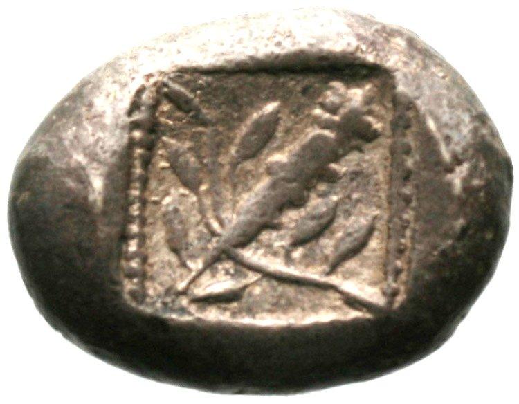 Οπισθότυπος Αβέβαιο κυπριακό νομισματοκοπείο, Αβέβαιος βασιλέας Κύπρου (αρχαϊκή περίοδος), SilCoinCy A1902