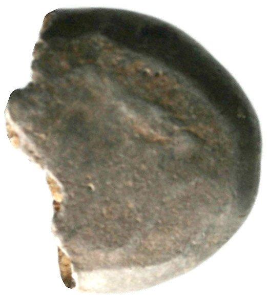 Οπισθότυπος 'SilCoinCy A1936, acc.no.: . Silver coin of king Evelthon of Salamis 525 - 500 BC. Weight: 7.29g, Axis: 12h, Diameter: 17mm. Obverse type: Ram recumbent l.. Obverse symbol: -. Obverse legend: - in -. Reverse type: Smooth. Reverse symbol: -. Reverse legend: - in -.