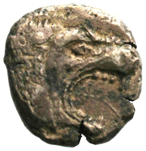 Εμπροσθότυπος Αβέβαιο κυπριακό νομισματοκοπείο, Αβέβαιος βασιλέας Κύπρου (αρχαϊκή περίοδος), SilCoinCy A1940