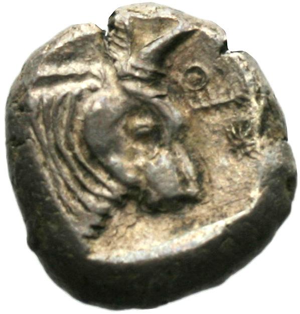 Οπισθότυπος Αβέβαιο κυπριακό νομισματοκοπείο, Αβέβαιος βασιλέας Κύπρου (αρχαϊκή περίοδος), SilCoinCy A1940