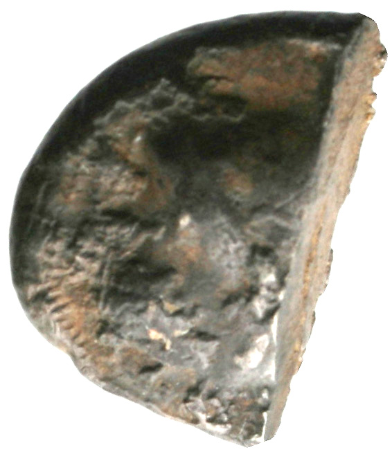 Εμπροσθότυπος 'SilCoinCy A1941, acc.no.: . Silver coin of king Uncertain king of Cyprus (archaic period) of Uncertain Cypriot mint  - . Weight: 6.1g, Axis: 12h, Diameter: 19mm. Obverse type: -. Obverse symbol: -. Obverse legend: - in -. Reverse type: -. Reverse symbol: -. Reverse legend: - in -.