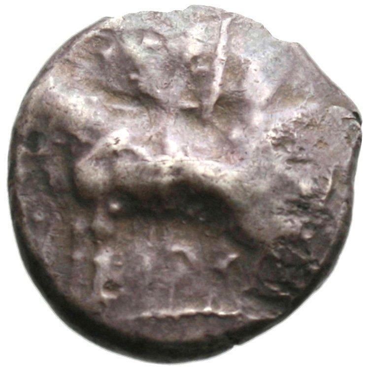 Εμπροσθότυπος Πάφος, Ονάσι(-), SilCoinCy A1944